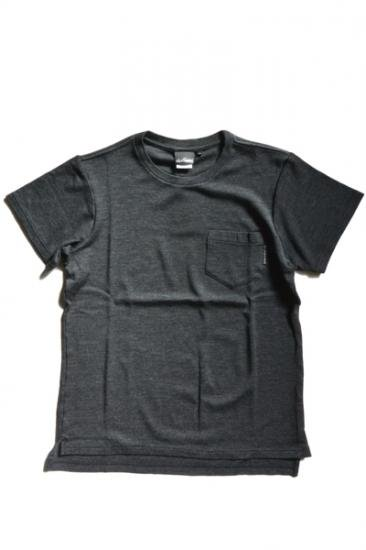 WILDTHINGS S/S MERINO POCKET TEE(H.CCL)