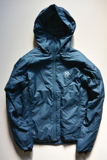 HAGLOFS BARRIER Ⅲ HOOD MEN(BLUE INK/STEEL SKY)