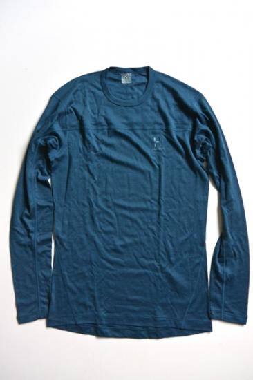 HAGLOFS ACTIVES BLEND ROUNDNECK MEN(BlueInk)