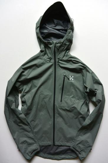 HAGLOFS AMPLE Ⅲ JACKET(BELUGA)