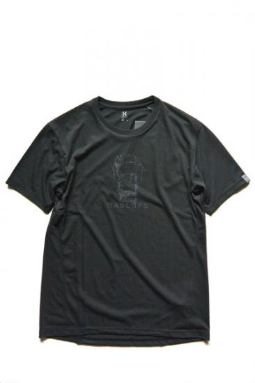 HAGLOFS LEAD TEE MEN(TRUE BLACK)