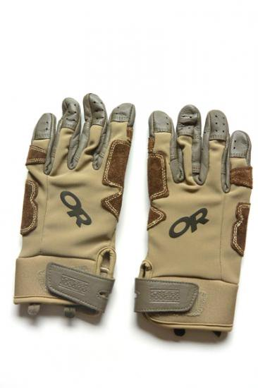 OUTDOOR RESEARCH Ms AIR BRAKE GLOVE(カフェ/アース)