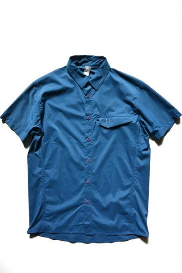 HAGLOFS GETA SS SHIRT MEN(BlueInk)