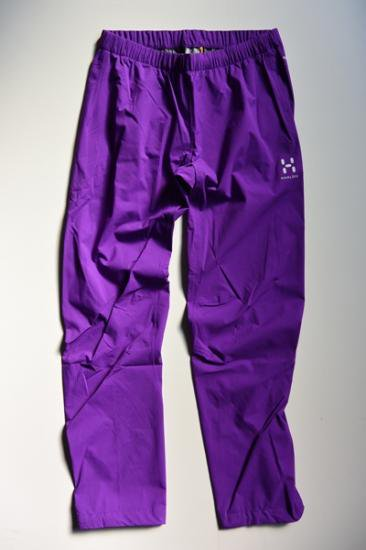 【WOMEN'S】HAGLOFS L.I.M PROOF Q PANT(IMPERIAL PURPLE)