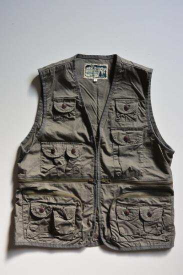 GO WEST FIELD TOOL VEST (OLIVE)