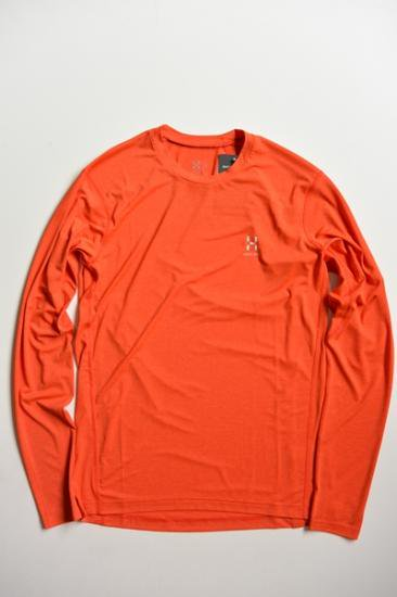 HAGLOFS RIDGE LS TEE MEN(DANGER)