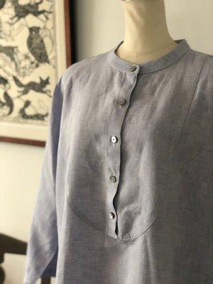 ORIGINAL ホームウェア ノーカラ—シャツドレス