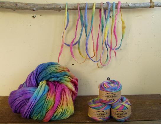 ティティウール糸 Rainbow