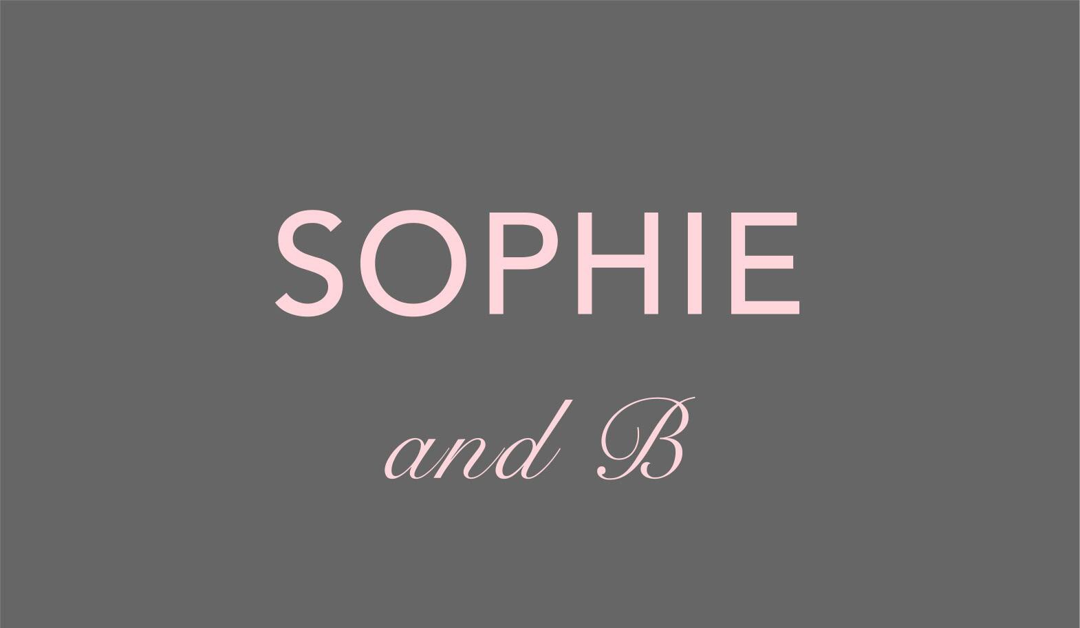 SOPHIE and B