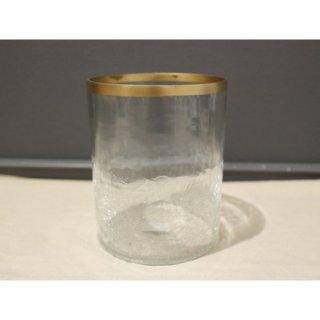 フラワーベース クラックガラス