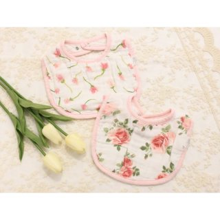 ベビースタイ MUSLIN BELLA BABY BIBS SET/mud pie