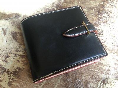 10b027f983d3 ブライドルレザーフルオーダーメイド二つ折り財布/ウォレット - レザー ...