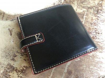 3992fe6d2c5f ブライドルレザーフルオーダーメイド二つ折り財布/ウォレット. この商品はお客様からのリクエストを元にフルオーダーでお作りさせて頂いた参考商品になります。