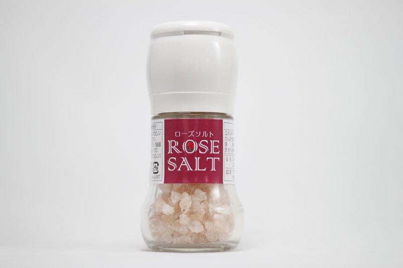 ローズソルト・ミルつぶ塩55g