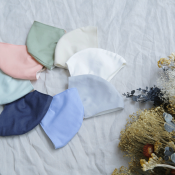 NEW 【日本製 Ag加工】 綿100% コットンマスク Sサイズ マスクフィルタープレゼント!