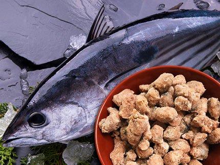 犬猫の手作りご飯のトッピングにおすすめの魚「嵐山鮮魚 かつおパラパラミンチ」