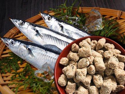 犬猫の手作りご飯のトッピングにおすすめの魚「嵐山鮮魚 さんまパラパラミンチ」