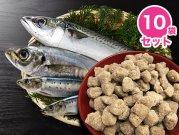 【冷凍】嵐山鮮魚 【10袋セット】青物三昧パラパラミンチ 300g