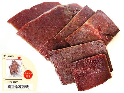 犬猫におすすめの生肉「国産牛レバー 100g」