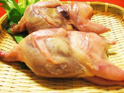 犬猫の手作りご飯におすすめの生肉「うずら(メス)2羽」