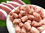犬猫の手作りご飯におすすめの鴨肉「【冷凍】鴨肉荒挽きパラパラミンチ 120g」