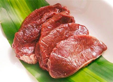 犬猫におすすめの生肉「蝦夷鹿 極上ロース肉 130g」