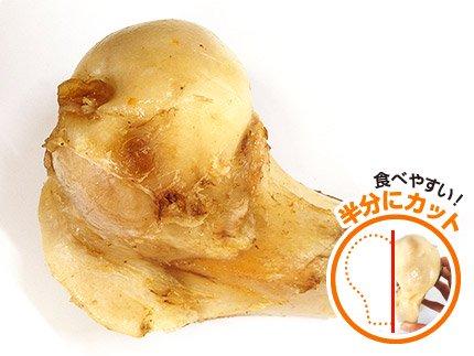 犬のデンタルケア・口臭予防におすすめの牛骨「特選牛の骨 ゲンコツカット」