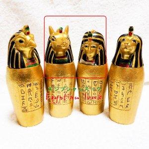 【B級】カノポスの壷フィギュア 4本セット【宅急便のみ】