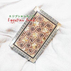 エジプト貝細工・螺鈿(らでん)箱 Lサイズ Cタイプ【宅急便のみ】