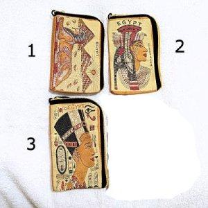 エジプト刺繍ポーチ(カルトゥーシュカード&タバコ入ります!)【メール便OK】
