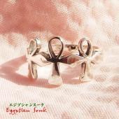 アンク -エジプト十字クロス- シルバー925 リング・指輪【メール便OK】