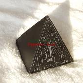 エジプシャンブラック☆ピラミッド 置物レプリカ像 【宅急便のみ】