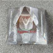 最高級!3Dレーザー エジプト製クリスタルピラミッド・ツタンカーメン【宅急便のみ】