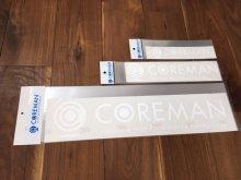 コアマン/ロゴカッティングステッカー ホワイト [サイズ�] 中サイズ W300mm