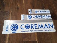 コアマン/ロゴカッティングステッカー ブルー [サイズ�] 大サイズ W500mm
