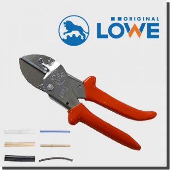 LOWE 1105 オリジナルライオンハサミ カッター 建築/木工/電工/工業用万能鋏 アンビル(切断長40mm)