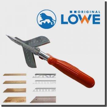 LOWE 3104 オリジナルライオンハサミ カッター建築/木工/電工/工業用鋏 アンビル(カット用マーキング付き)