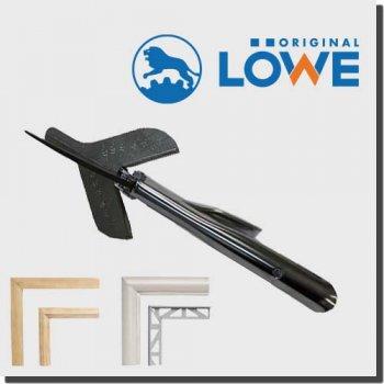 LOWE 3101 オリジナルライオンハサミ カッター建築/木工/電工/工業用万能鋏 アンビル カッター(カット用マーキング付き)