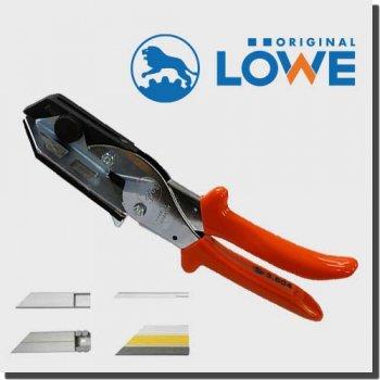 LOWE 3604 オリジナルライオンハサミ カッター 建築/木工/電工/工業用万能鋏 アンビル (ケーブルや配線ダクト用45度カッティングマット)