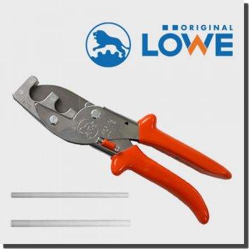 LOWE 3204/16U19 オリジナルライオンハサミ 建築/木工/電工/工業用万能鋏 アンビル カッター(パイプ切断用鋏)