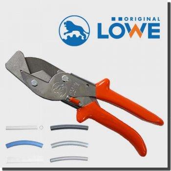 LOWE 3204/P90 オリジナルライオンハサミ カッター建築/木工/電工/工業用万能鋏 アンビル (小さなパイプとホース用鋏)