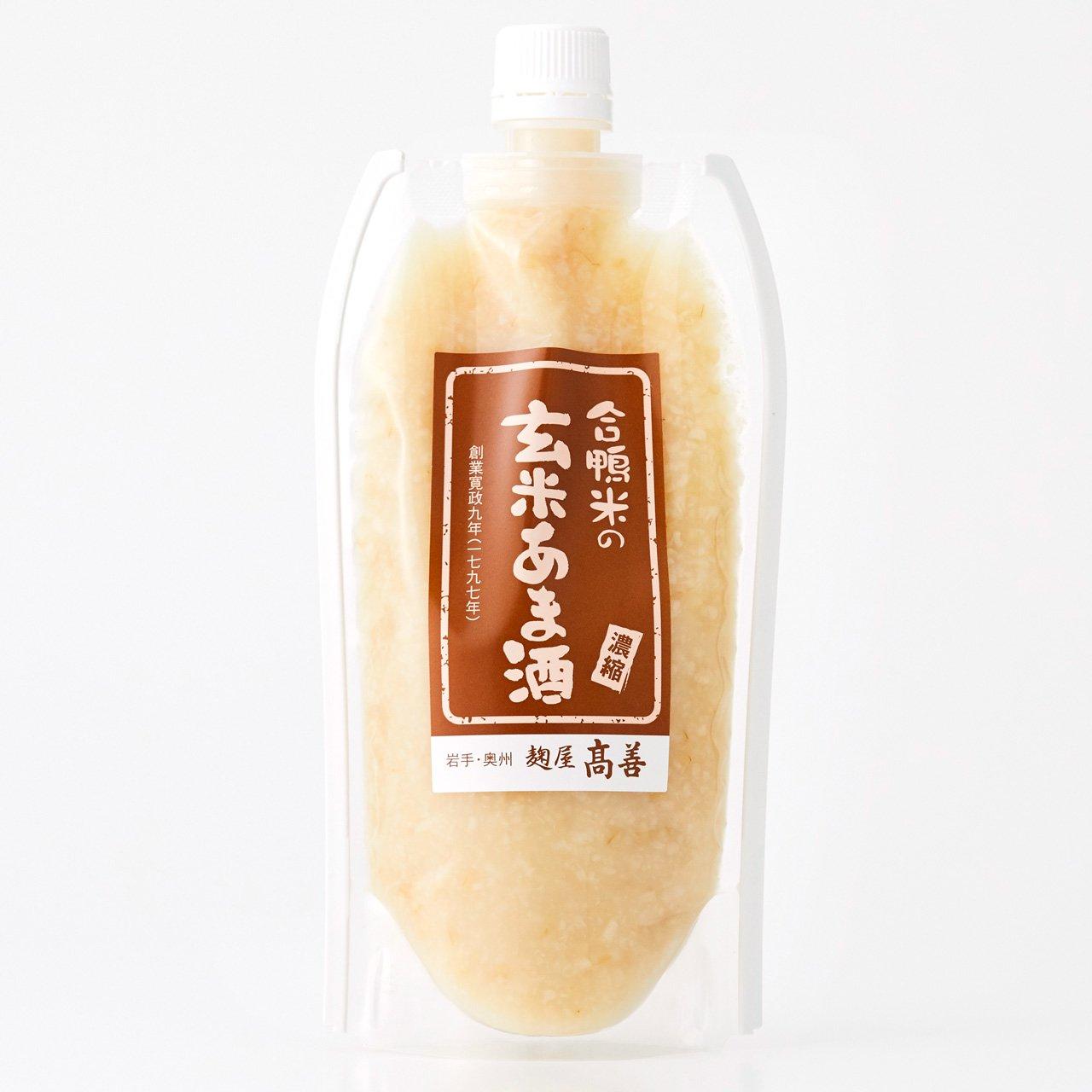 合鴨米の玄米あまざけ 300g(原液タイプ)