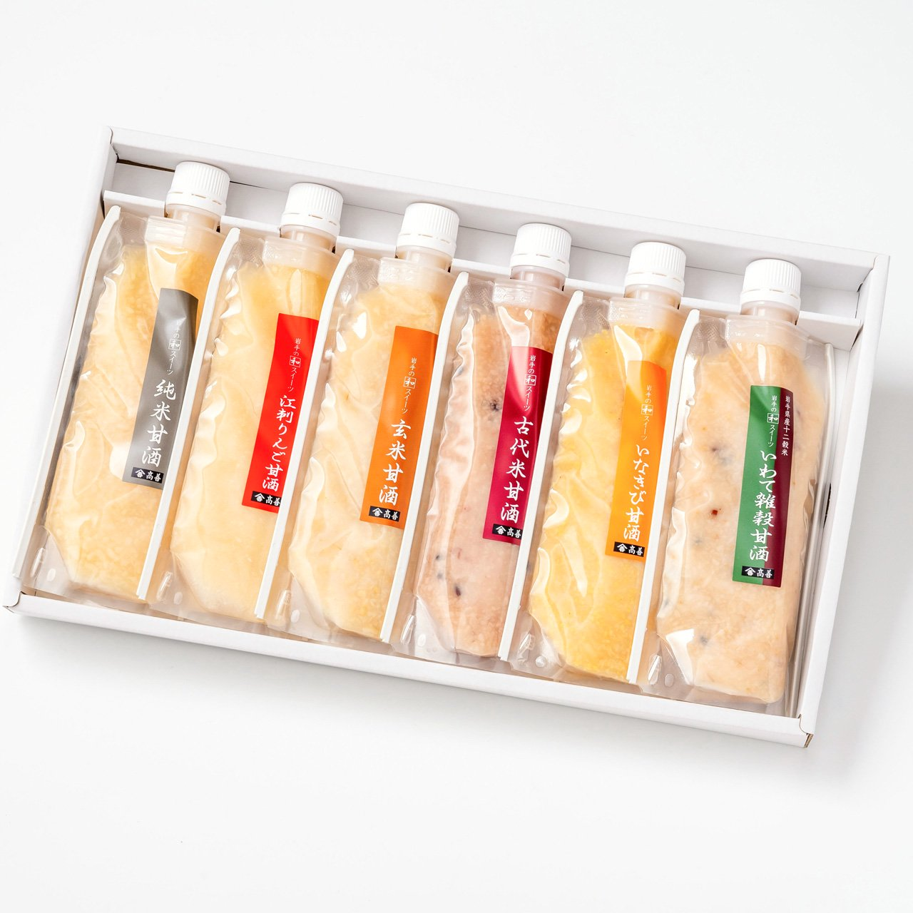 麹屋さんの甘酒6種類セット