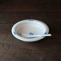 クローバースープ皿(ゴス)(中・スプーン付き)