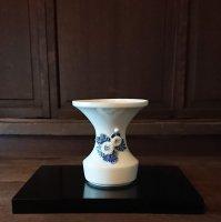 登り窯 平戸菊花飾広口花瓶(小)