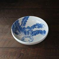 平戸蕪絵銅鑼鉢