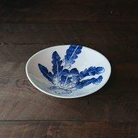 平戸蕪絵卵形鉢