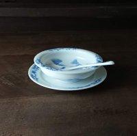 薊文スープ皿(小・スプーン付き)