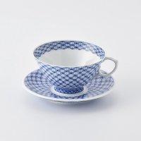 七宝文ティーカップ&ソーサー