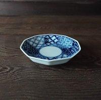 祥瑞文豆皿(十角)